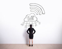 Internet of things Royalty Free Stock Images