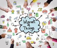Internet of things, business concept Stock Photo