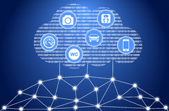 The internet of things Stock Image