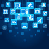 Internet of things concept Royalty Free Stock Photography