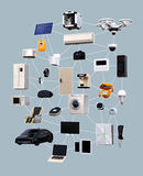 Internet of Things concept for consumer products Royalty Free Stock Photography