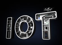 Internet of Things Concept for home appliances Royalty Free Stock Images