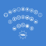 Internet of things concept. Internet of things illustration Royalty Free Stock Image