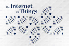 Internet of things concept. The Internet of Things (IoT) refers to uniquely identifiable objects and their virtual representations in an Internet-like structure Royalty Free Stock Photos