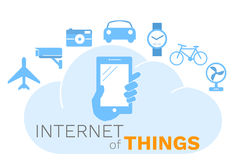 Internet of things concept, Royalty Free Stock Photos