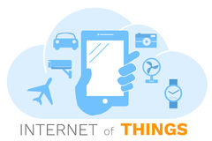 Internet of things concept, Stock Photo