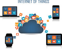 Internet of things concept Stock Photos