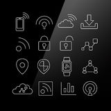 Internet of things icon Royalty Free Stock Photos