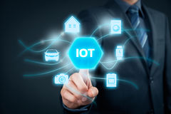 Internet of things IoT Royalty Free Stock Photography