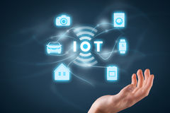 Internet of things IoT Royalty Free Stock Photos