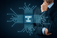 Internet of things IoT Royalty Free Stock Images
