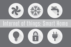 Internet of Things, IoT - Smart Home.  Stock Images