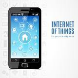 Internet Of Things Phone Stock Images
