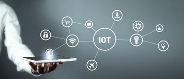 Internet Of Things. Internet, Technology, Business stock photography