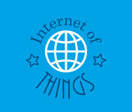 Internet of things Technology vector Royalty Free Stock Photos