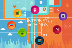 Internet of things thing Royalty Free Stock Photography