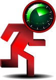 Internet timer icon Stock Photos