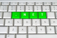 Internet top level domain .net Royalty Free Stock Photos