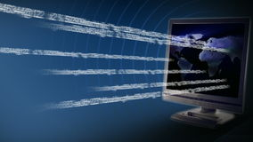 Internet Traffic stock video