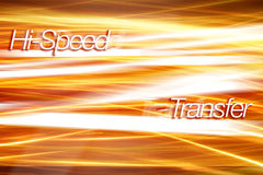 Internet Traffic - Technology background. Hi-Speed Transfer - Technology background. concept for data transfer, communication, streams, etc Royalty Free Stock Images