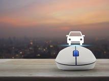 Internet transportation service concept Stock Photography