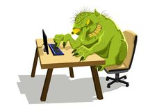 Free Internet Troll Royalty Free Stock Photo - 128271305