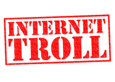 INTERNET TROLL Stock Photos