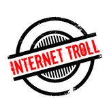 Internet Troll rubber stamp Royalty Free Stock Photos