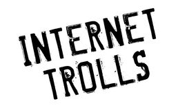 Internet Trolls rubber stamp Stock Image
