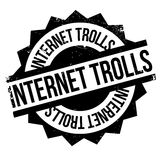 Internet Trolls rubber stamp Stock Photography