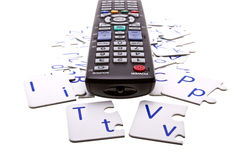Internet TV Stock Photo