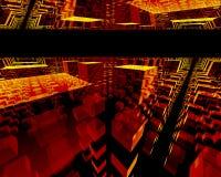 Internet und Technologieerforschung lizenzfreie abbildung