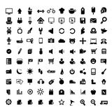 Internet, universal icons set Royalty Free Stock Photography