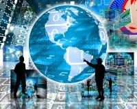 Internet universe Stock Photos