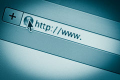 Internet URL Royalty Free Stock Image