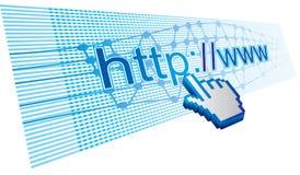 Internet utilization. Abstract illustration about internet utilization area Royalty Free Stock Photos