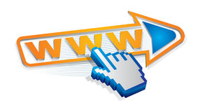 Internet utilization. Abstract illustration about internet utilization area Stock Photography