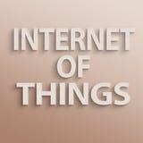 Internet van Dingen royalty-vrije stock fotografie