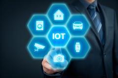 Internet van dingen IoT stock afbeeldingen