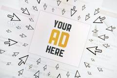 Internet van het succes banner Stock Afbeelding