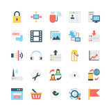 Internet Vector Icons 4 Royalty Free Stock Photography
