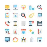 Internet Vector Icons 1 Stock Photography