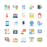Internet Vector Icons 3. Here are some trendy Internet Vector Icons that fun, bright and perfect for your projects related to web and internet Royalty Free Stock Photography