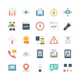 Internet Vector Icons 5 Stock Images