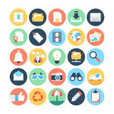 Internet Vector Icons 3 stock illustration