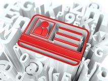 Internet-Veiligheidsconcept op Alfabetachtergrond. Stock Fotografie
