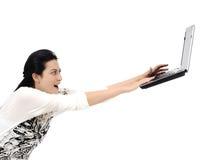 Internet veloce! Fotografia Stock