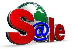 Internet-Verkauf Stockbilder