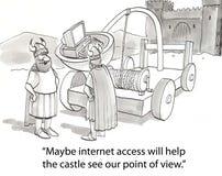 Internet viquingues Foto de Stock Royalty Free