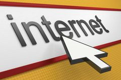 Internet Web Browser Stock Photography